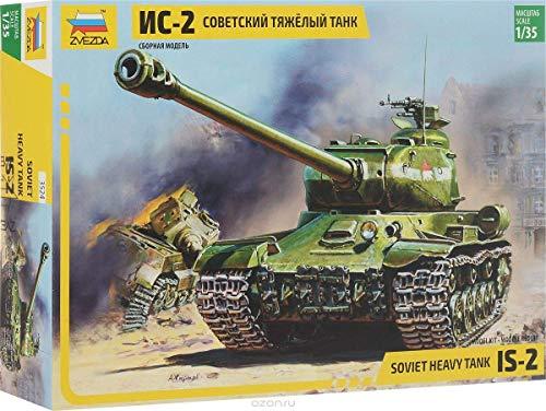 Zvezda 500783524 - 1:35 WWII Soviet Heavy Tank J.S.-2