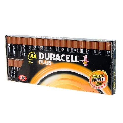 Duracell Plus Batterien (AA LR6 MN1500, 1,5 V, 36 Stück
