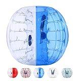 YUEBO Bumper Bubble Soccer Balls for Kids/Adults, Body Zorb Ball Dia 4FT/5FT(1.2m/1.5m)