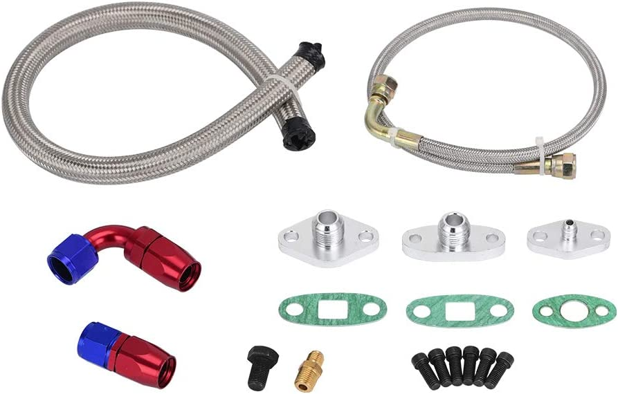 PQY Oil Popular standard Feed We OFFer at cheap prices Drain Return Line Toyo 10AN 4AN with Compatible Kit