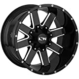 Ion Alloy 143 Gloss Сustom Wheel - 17 In x 9 In 13 Offset, 6x135 Bolt pattern, 106mm Hub - Gloss Black
