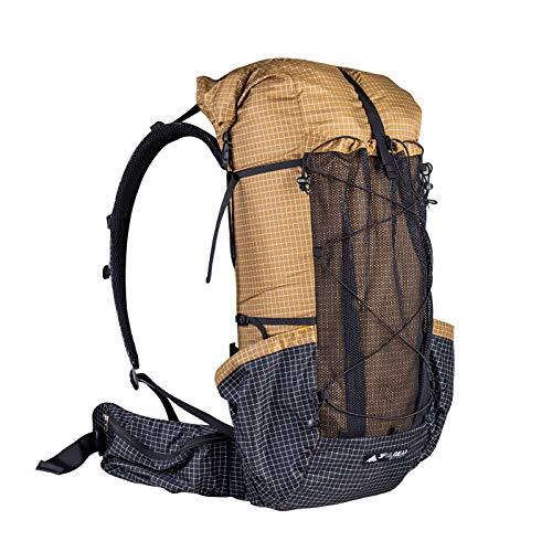 3F UL GEAR QiDian Pro UL Backpack Outdoor Climbing Bag Camping Hiking Bags Qi Dian UHMWPE Ultralight (Gray)