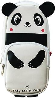 Piórnik dzieci szkoła panda kształt piórnik duża pojemność studenci uroczy uchwyt na długopisy torba, piórnik
