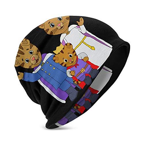 Daniel Tiger's Neighborhood Kids Winter Beanies, Warm Cold Weather Hats Boys Girls Children Gift Black