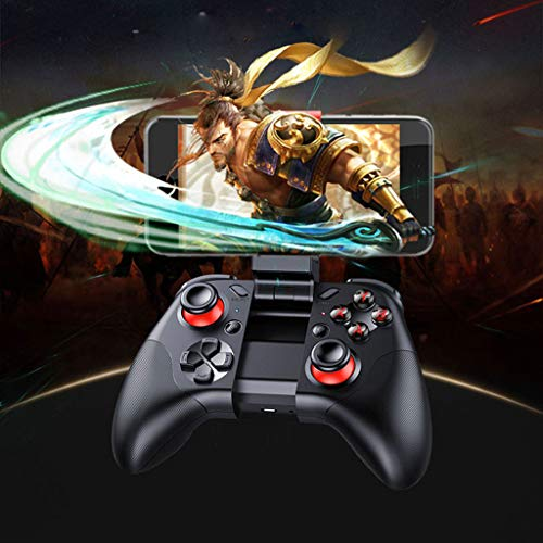 Kariwell MOCUTE 054 Controller Wireless Gaming Controller, Bluetooth Trackpad con supporto telescopico per Android iOS PC Bionic Trigger Crystal Skill Button gioco continuo   40 ore