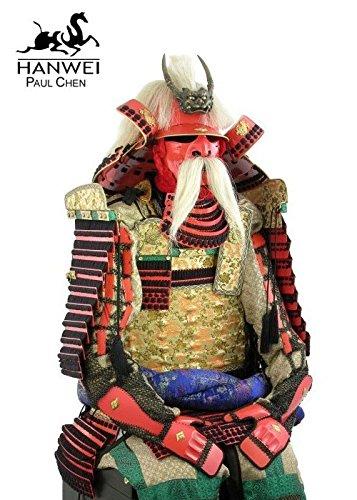 Rüstung des Samurai-Kriegers Takeda Shingen Inklusive Rüstungsständer von Hanwei