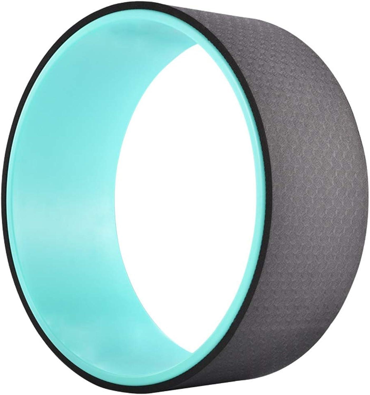 YUMUYMEY Yoga Wheel übungen Prop für Rückenschmerzen bequem und langlebig Yoga Balance Zubehr, erhhen Przision und Flexibilitt