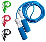 Corda fitness in 4colori con cuscinetti a sfera di qualità, Speed Rope professionale co...