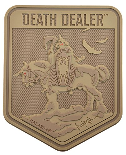 Exclusive Death Dealer(TM) Patch by Frank Frazetta - Coyote
