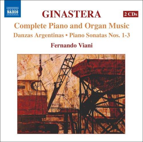 ヒナステラ: ピアノ・オルガン曲全集(GINASTERA, A.: Complete Piano and Organ Music)[2CDs]