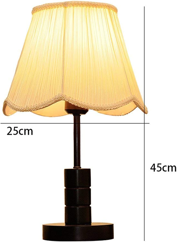 WHKFD Moda in Legno, Luce Umida Manuelle Lampe von Comodino Luce Del Giorno, H45Cm  W25Cm