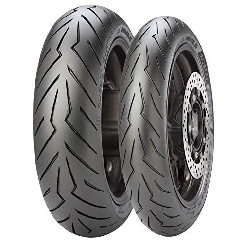Coppia gomme pneumatici Pirelli Diablo Rosso Scooter 120 70-12 58P 130 70-12 62P