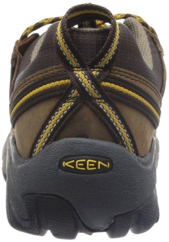 KEEN Targhee II Mid Bottes de randonnée pour Homme Marron/Jaune doré - Noir - Bungie Cord Orange...