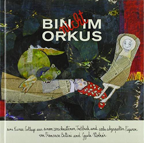 BIN nicht IM ORKUS: Eine kurze Collage aus einem zerschnittenen Textbuch und sechs abgespielten Figuren