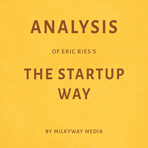 Analysis of Eric Ries's The Startup Way audiobook cover art