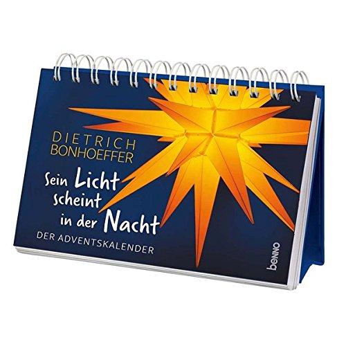 Aufsteller »Sein Licht scheint in der Nacht«: Der Adventskalender