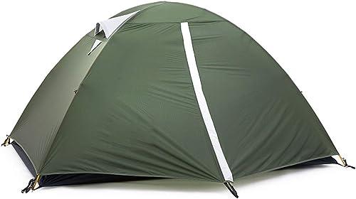 YJWOZ Tente Extérieure Double Tente De Randonnée en Silicium Ultra-léger 2 Personnes en Voyage De Montagne Tente