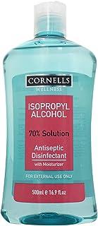 CORNELLS Isopropyl Alcohol Antiseptic Disinfectant, 500 ml