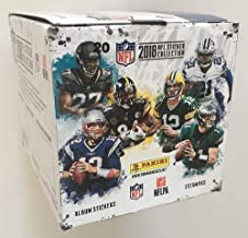 2018 Panini NFL Football Sticker Collection box (50 packs - 250 total stickers)