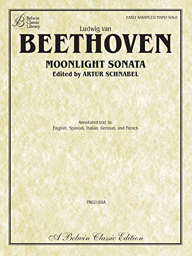 Moonlight Sonata (Sonata No. 14 in C-sharp Minor, Op. 27, No. 2) (Belwin Classic Library)
