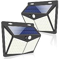 2-Pack YJT-Smyer Solar Motion Sensor Outdoor Lights