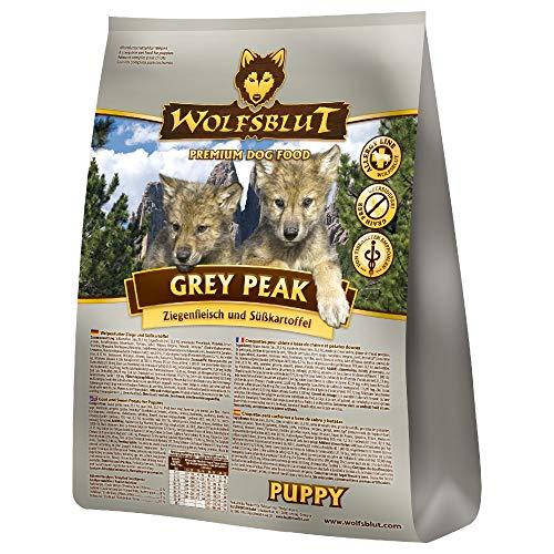 Wolfsblut - Grey Peak Puppy - 15 kg - Ziege - Trockenfutter - Hundefutter - Getreidefrei