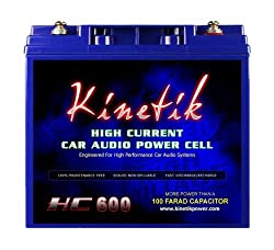 2ca4104800 AGM Car Audio Power Cell Battery Kinetik HC600 review 2019