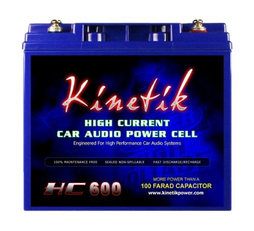 Kinetik (HC600-BLU) Black Power Cell Battery