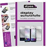 dipos I 5X Schutzfolie kompatibel mit LG G8X ThinQ Dual Screen Bildschirmschutz-Folie klar