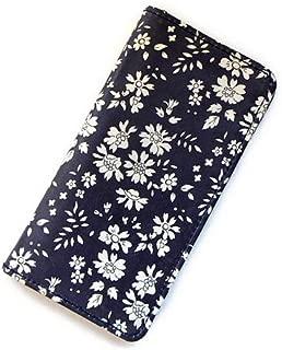 iPhone XRケース 手帳型 リバティ カペル(ダークパープル)コーティング SHOKO MIYAMOTO かわいい おしゃれ マグネット無しでカード安全 スマホケース アイフォンケース Liberty…