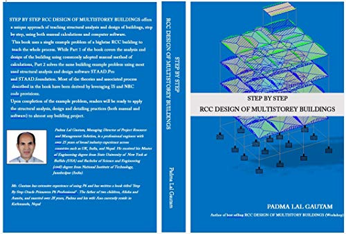STEP BY STEP RCC DESIGN OF MULTISTOREY BUILDINGS (English Edition)