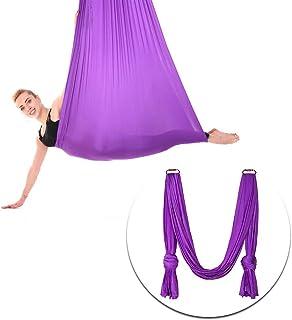 Hamaca de Yoga aérea, Pilates Silk Yoga, Columpio de Techo Colgante Sling de Yoga - Swing de inversión para Principiantes