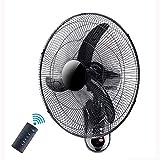 Suge Ventilador de Pared, 18/20 Pulgadas resonante/Rotación de 3 velocidades del Ventilador inclinación de la Cabeza y mecánicos eléctrico de refrigeración for el Verano