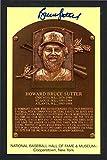 Bruce Sutter Autographed HOF Plaque Postcard St. Louis Cardinals SKU #159352 - MLB Cut Signatures