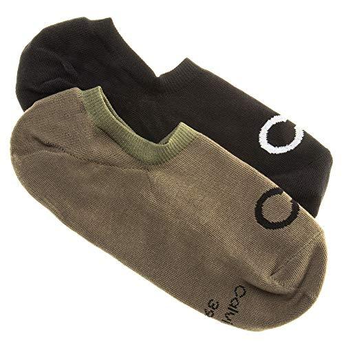 Calvin Klein Herren Sneaker Liner Casual Socks Socken Mehrfarbig Lrg