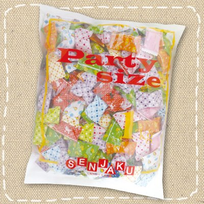 扇雀飴本舗 1キロ入り業務用キャンデー  Aピローミックス「Party Size」パーティーサイズ 1kg×80袋