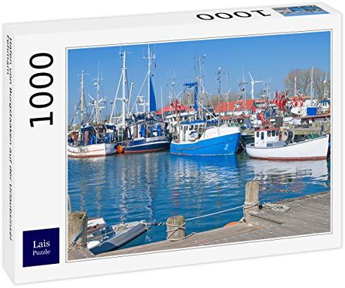 Lais Puzzle Hamn i Bourgstaaken på semesterön Fehmarn 1 000 delar