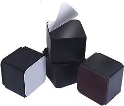 panthem 4 stuks meubelverhoging van koolstofstaal, 5 cm hoogte 6 cm breed, zelfklevende meubelverhoging meubelpoten voegt ...