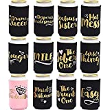 Can Insulator Sleeve: Enjoy an ice cold soft drink for hours, these can sleeves from Blue Panda help insulate your drinks to prevent transference of external temperatures and body heat to your beverage Bachelorette Party Supplies: These can cooler sl...