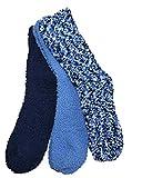 Sockswear 3 Paar Kuschelsocken Popcorn blau 39-42