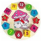 BaoYPP Juguete de Reloj de Madera Relojes Digitales Juguetes de...