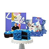 Duff Goldman DIY HALLOWEEN Baking Kit for by Baketivity - Bake a Delicious Fuzzy Monster Cake or Cupcakes with Pre-Measured Ingredients. Best Family Activity. Great Gift for Girls, Boys, and Adults.