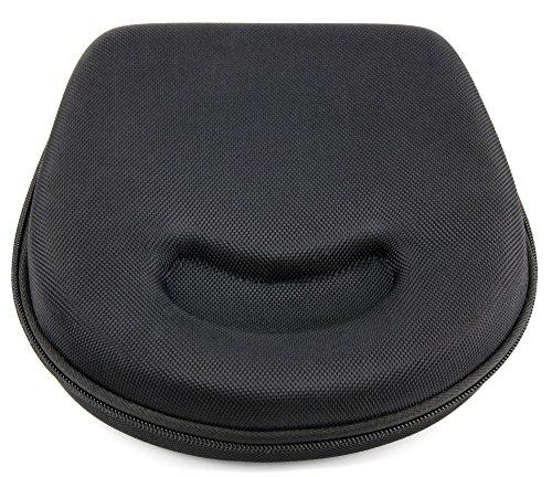 DURAGADGET Estuche/Carcasa para Auriculares Sony MDR-ZX110B / Subsonic X-Storm/Urbanears Plattan 2 - En Color Negro - Diseño Ergonómico