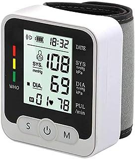 Tensiómetro de Brazo, Tensiómetro de Brazo Digital con Brazalete con Difusión de Voz y Pantalla LCD Grande, Máquina de presión Arterial para Uso Doméstico