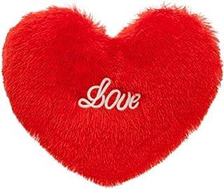 Toyvian Almohada en Forma de Corazón del Día de San Valentín Cojín Decorativo del Amor Almohada para El Día de San Valentín Cumpleaños de Navidad