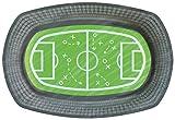 6 geformte Teller * Fussball-Stadion * für WM 2018-Party oder Kindergeburtstag // EM Party...
