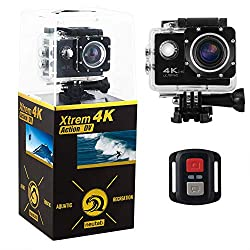 Best Action Cameras Under 200 Dollars - NeuTab Xtrem 4K Action Camera