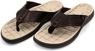 PEGADA Brown Strong Quality Designs Slipper for Men