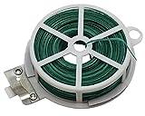 Riegolux 601710 Alambre Plastificado, Verde, 100 m