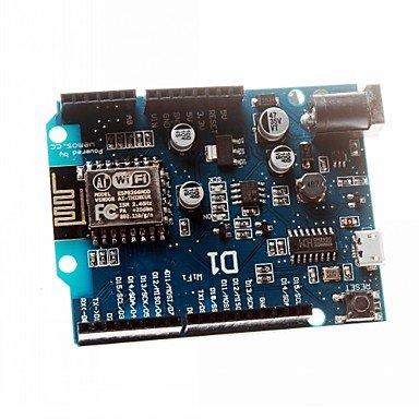 ULIAN Arduimo accessonries moduli/sensori intelligente Elettronica ESP-12E Wemos D1 WiFi Uno Based ESP8266 Shield per Arduino Compatibile